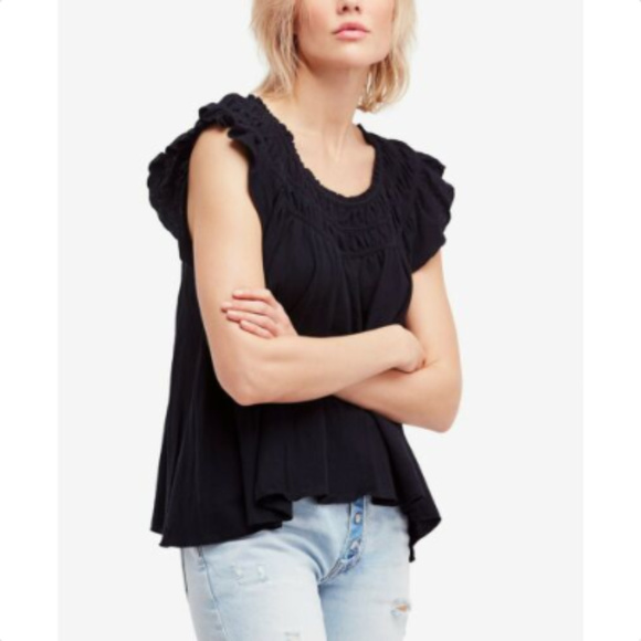 Free People Tops - FREE PEOPLE Womens Blouse Shirt Top, XS